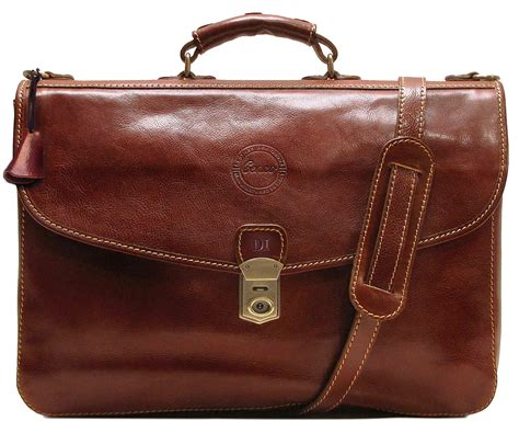 The Leather cenzo leather briefcase