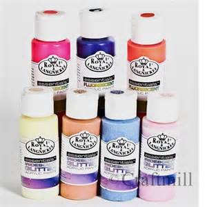 fluorescent metallic glitter pearl translucent acrylic artists paints 48 colors ebay