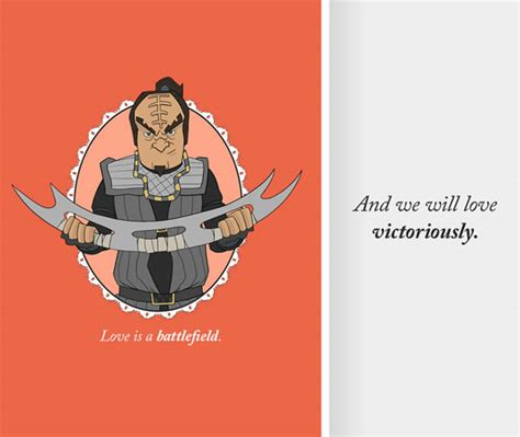 trek valentines day cards klingon posts