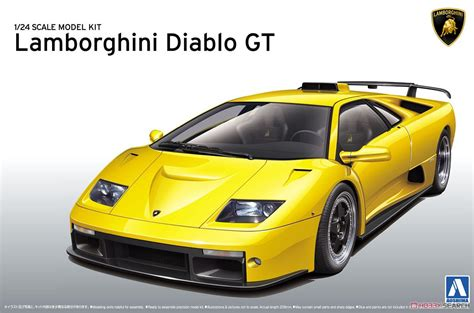 Lamborghini Diablo Models Lamborghini Diablo Gt Model Car Images List