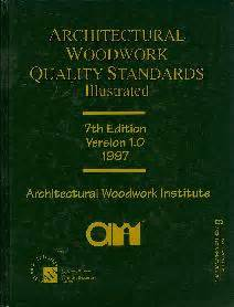 architectural woodwork quality standards school of architecture materials lab