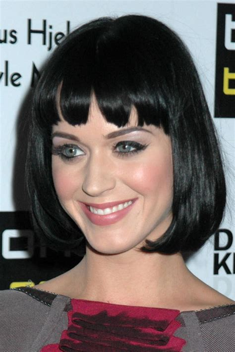 katy perry s new choppy bob hairstyle katy perry hairstyles with bangs katy perry straight black