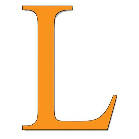 lettere l sta disegno di lettera l a colori