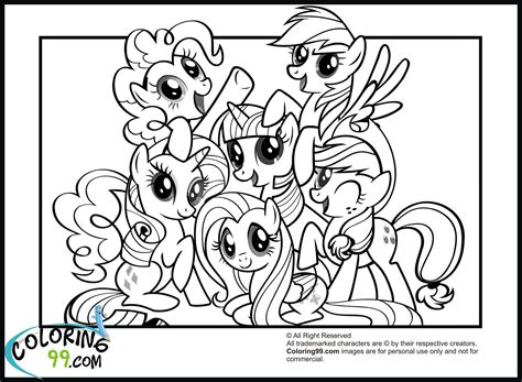 my little pony games coloring pages in color my little pony coloring pages friendship is magic team