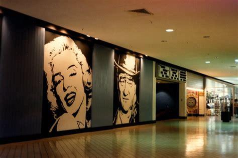 eastland mall cinemas mural  eastland mall