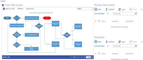 ms visio questions and answers how to link documents and comment on visio diargram via
