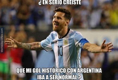 Los Memes De Messi - los mejores memes del gol de messi a estados unidos