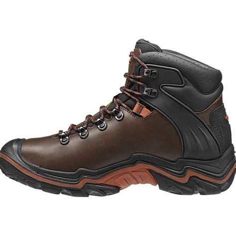 keen mens boots keen mens liberty ridge bison gingerbread waterproof