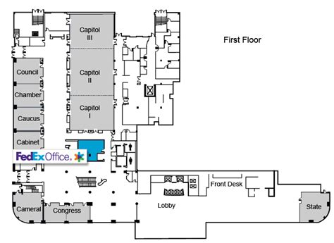 indiana convention center floor plan online printing services fedex office autos post