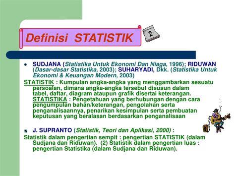 The Power Of Statistics Oleh J Supranto statistika presentasi staim