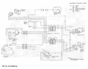 air conditioning schematic diagram of 1967 1968