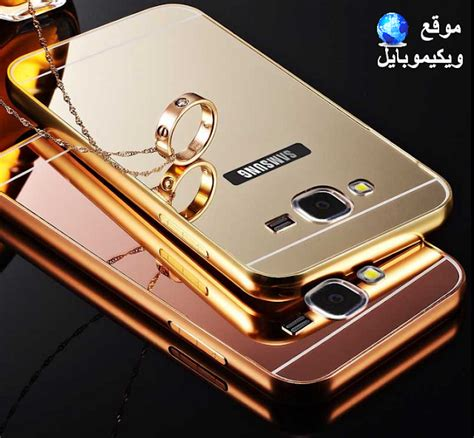 Samsung Galaxy J2 Mirror Metal Alumuniun Bumper Spigen Tpu Casing j7 gold back