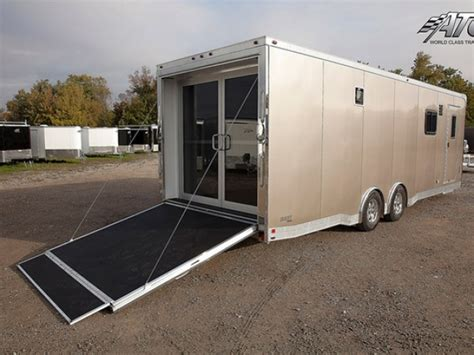 Motorcycle Sleeper Trailer by Custom Motorcycle Trailer With Living Quarters Mo Great Dane Trailers