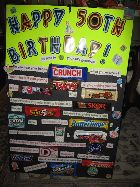 Top 50 Chocolate Bars by 50th Birthday Ideas The Hill Birthdays