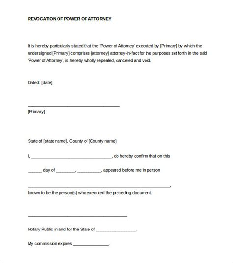 notarized letter format template business