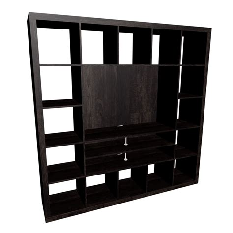 Expedit Shelf Unit by Expedit Tv Storage Unit Black Brown Design And Decorate