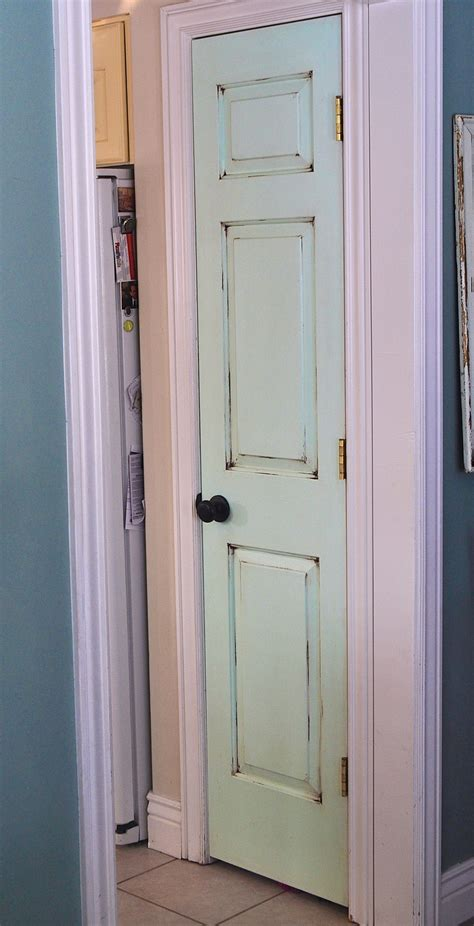 stylish pantry doors painted pantry