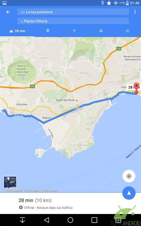offline maps android come usare maps offline anche come navigatore su
