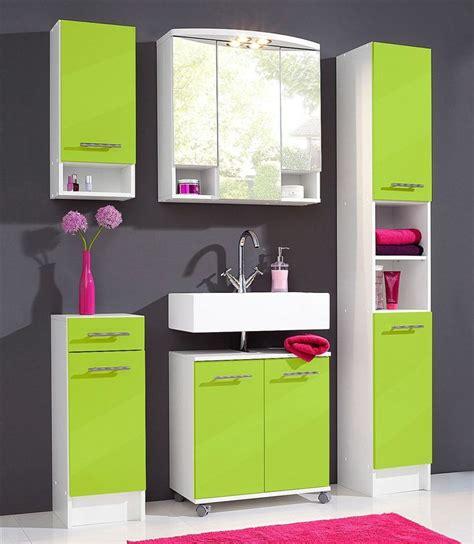 badezimmermöbel badezimmerm 246 bel set limegreen