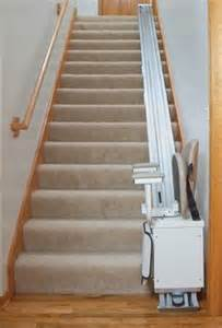managing stairs the stair lift