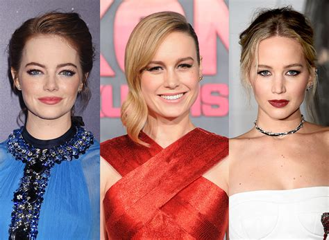 emma stone and jennifer lawrence friends j law brie larson and emma stone s friendship saved