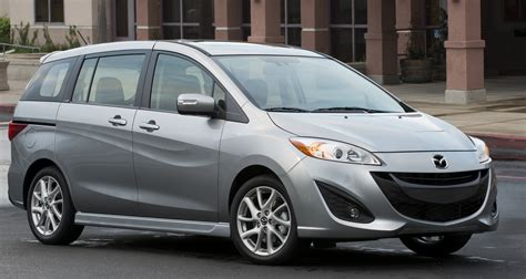 most fuel efficient vansminivans of 2014 mazda mazda5 kelley blue best minivans of 2014 carfax