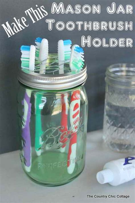 best way to store toothbrush in bathroom 35 fun diy bathroom decor ideas you need right now diy projects for teens