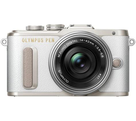 Kamera Mirrorless Olympus Epm1 buy olympus pen e pl8 mirrorless with 14 42 mm f 3 5 5 6 zoom lens white free
