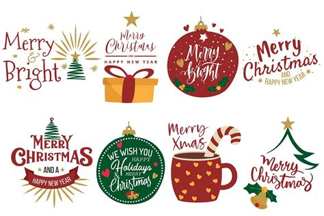 merry christmas greeting cards clip art christmas decor png