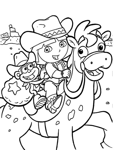 childrens coloring pages dora dora coloring pages for kids printable free coloring