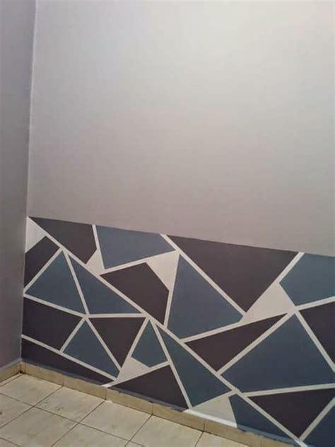 corak cat dinding rumah desainrumahidcom