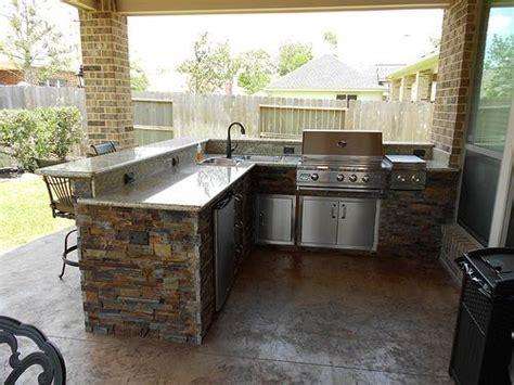 Outdoor Kitchens Houston Katy Cinco Ranch Texas Custom Backyard Grill Houston