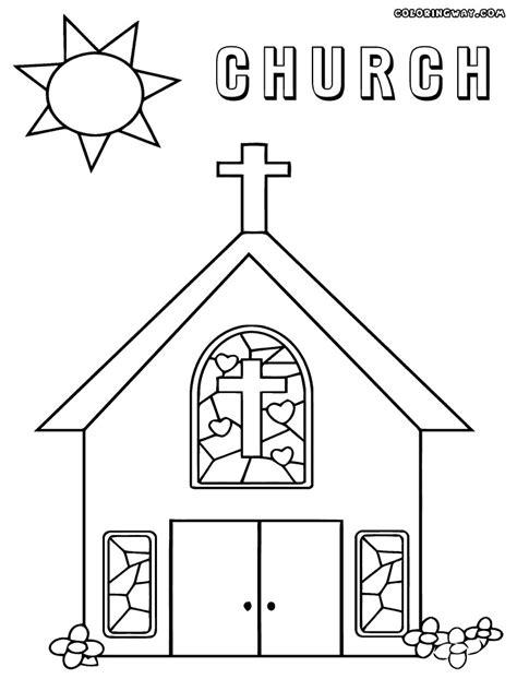 coloring pages church preschool church coloring pages to print educational coloring pages