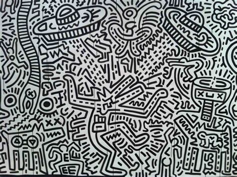 Psychedelic Wall Murals keith haring inspiring art design pinterest