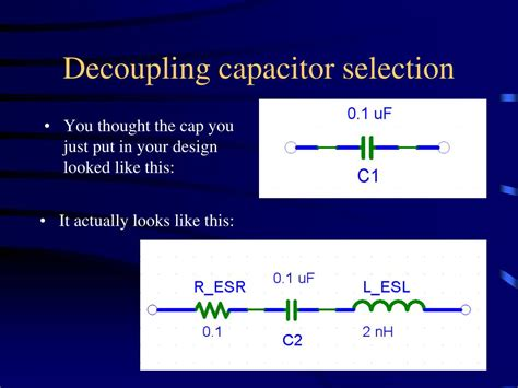 decoupling capacitor ppt ppt pcb design layout tips powerpoint presentation id 219082