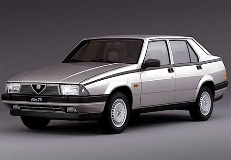 alfa romeo 75 turbo alfa romeo 75 turbo auto epoca curiosit 224 e foto