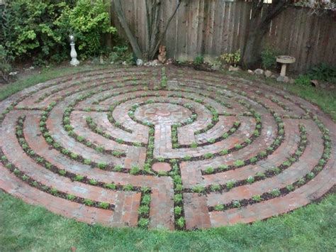 Backyard Labyrinth by Santa Rosa Labyrinth Design Labyrinths Mazes And Crop