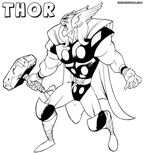 thor coloring pages thor coloring pages coloring pages to and print