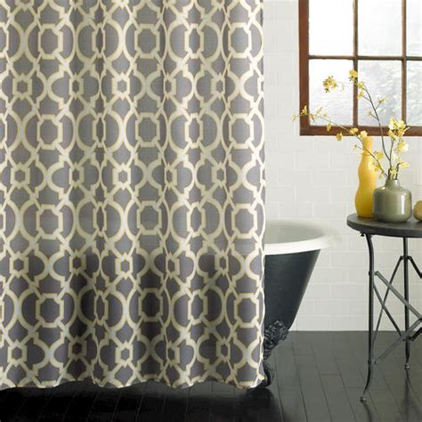 menards shower curtains excell geo lattice shower curtain at menards 174
