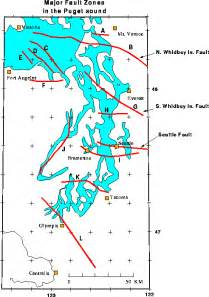 Seattle Fault Map by A Major Seattle Earthquake In Washington Could Be Dire Be