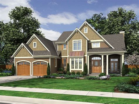 two story craftsman plan 046h 0011 find unique house plans home plans and floor plans at thehouseplanshop