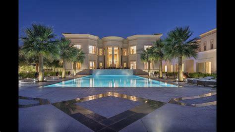 28 story house in dubai majestic golf course mansion dubai emirates uae gulf sotheby s international realty