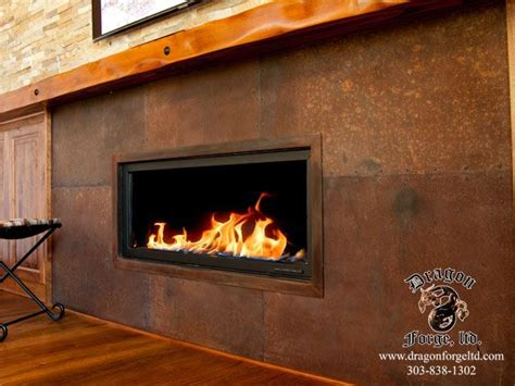 metal fireplace surrounds 1000 images about metal fireplace surrounds on