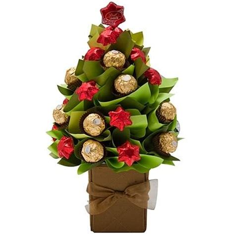 how to make a rocher christmas tree with 48 rocher chocolates ferrero rocher s bouquet giveaway trees bars and flower basket