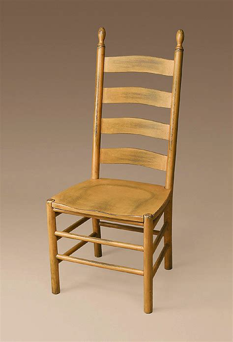 Ladder Back Seat Chairs - winslow shaker ladderback armchair