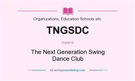 what does it mean to swing what does tngsdc mean definition of tngsdc tngsdc