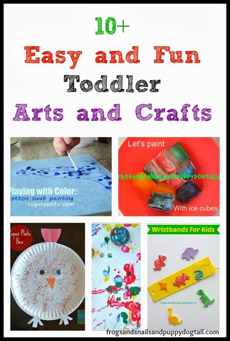 arts and crafts for toddlers for 10 easy and toddler arts and crafts fspdt