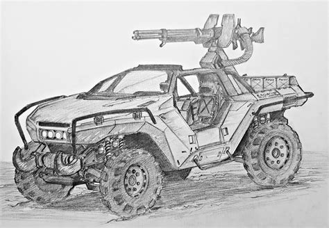Warthog Halo Drawing Pixshark Com Images Galleries