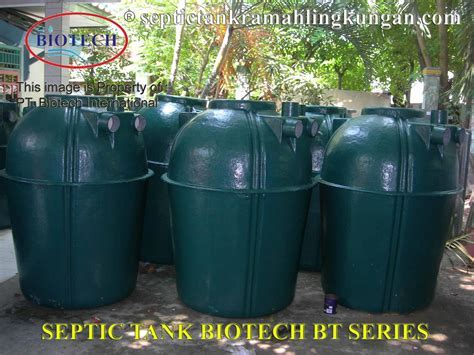 Sell Septic Tank from Indonesia by PT Biotech