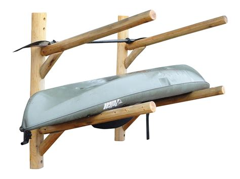 Wooden Kayak Racks For Storage by Wall Mount Kayak Rack 2 Place Kayak Storage Canoe Rack
